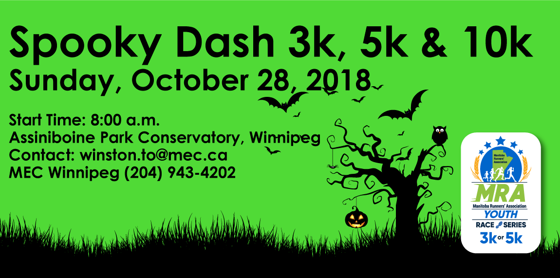 "MEC Winnipeg Race Five ""Spooky Dash"""