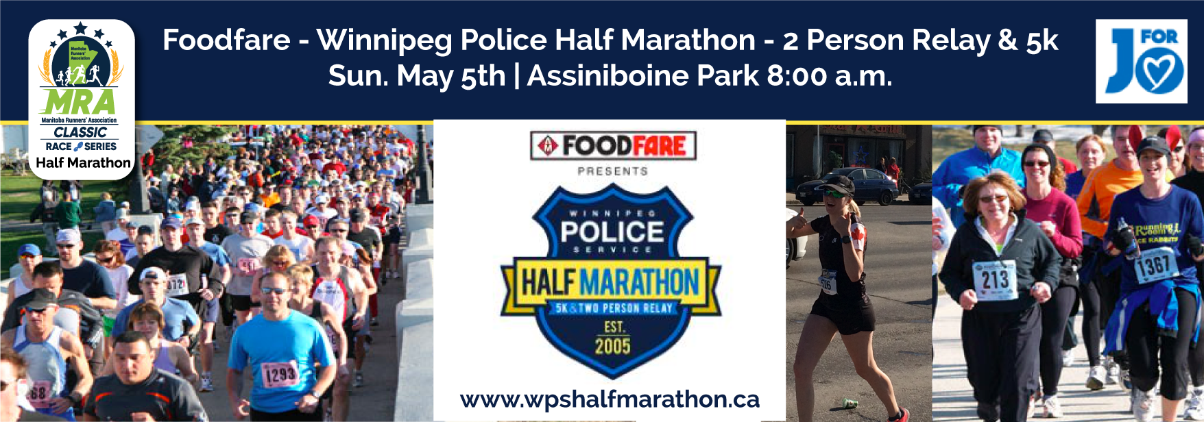Foodfare - Winnipeg Police Half Marathon, 2 Person Relay & 5k