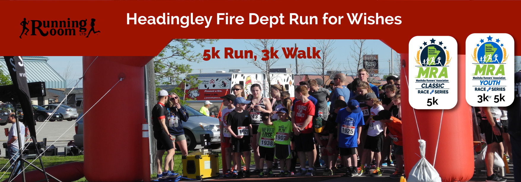 Headingley Fire Dept Run for Wishes