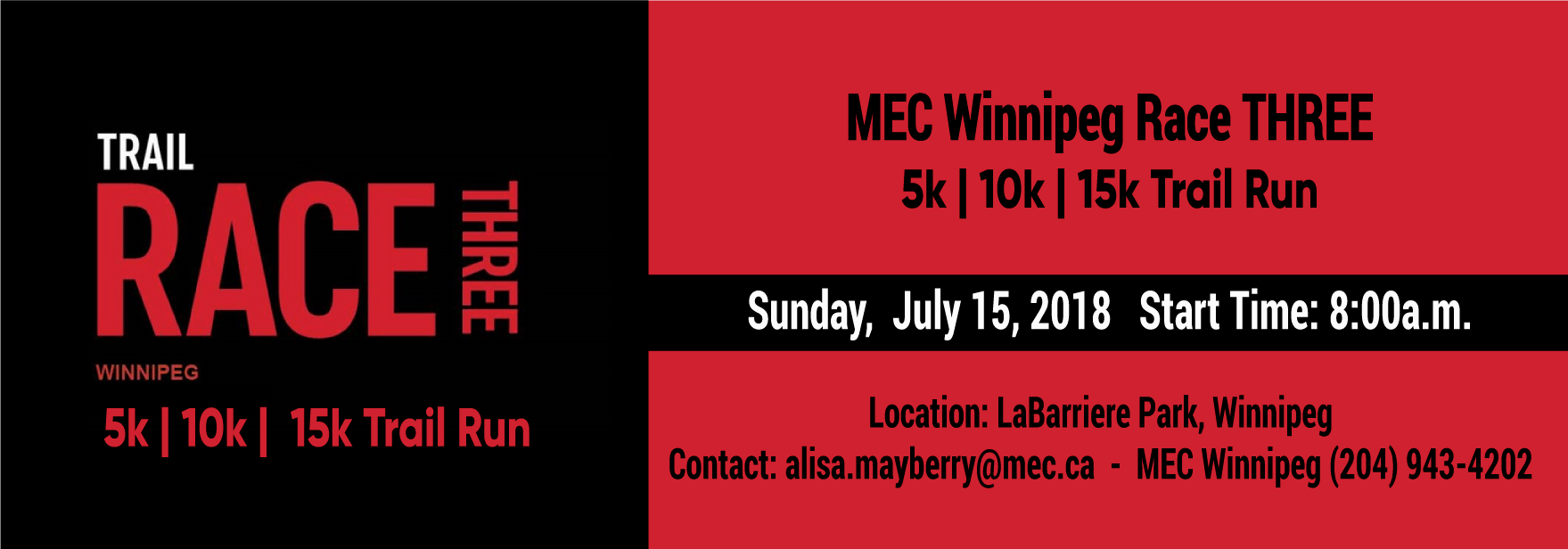 MEC Winnipeg Race Three