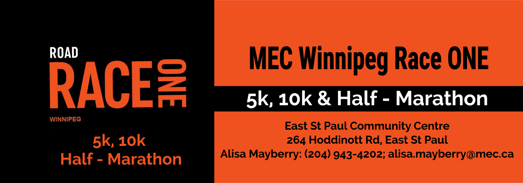 MEC Winnipeg Race One