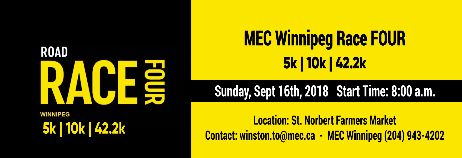 MEC Winnipeg Race Four