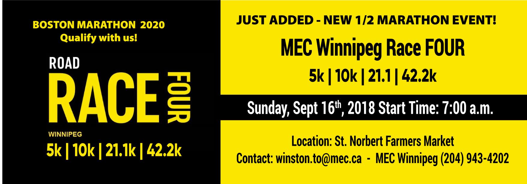 MEC Winnipeg Race Four