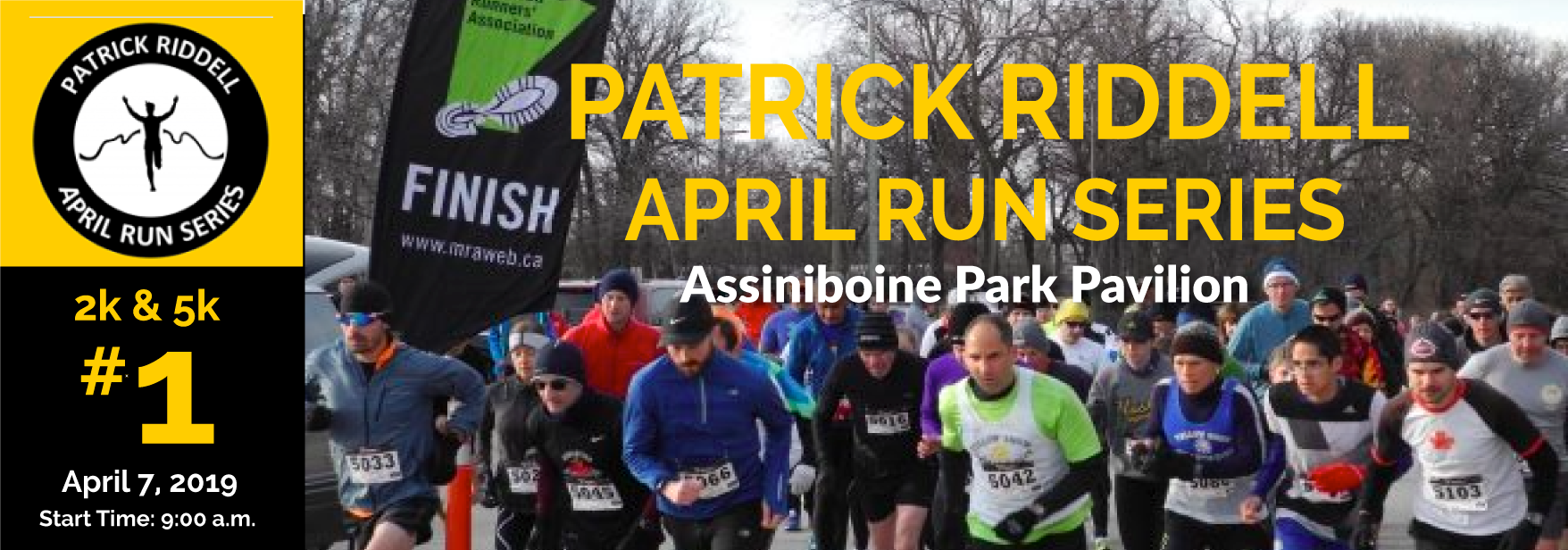 Patrick Riddell April Run Series #1